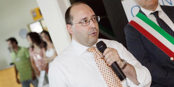 El Ingeniero Matteo Volpe, Gerente General IGV Group SpA durante la participaciòn de IGV Open Day
